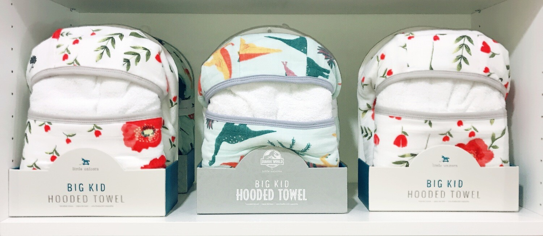 Cotton Hooded Towel Big Kid