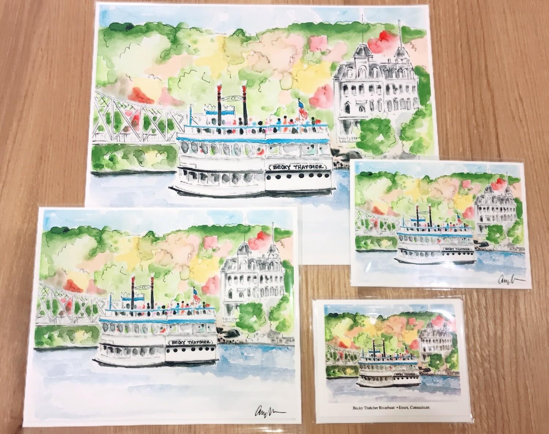 Riverboat Print