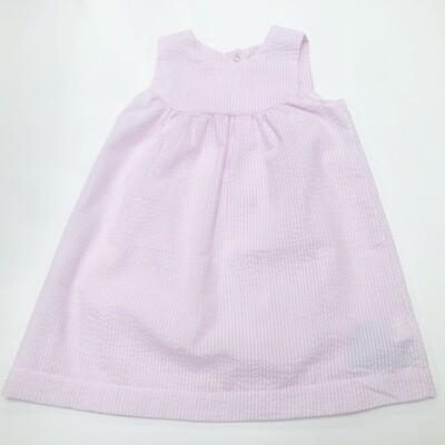 Pink Seersucker Dress