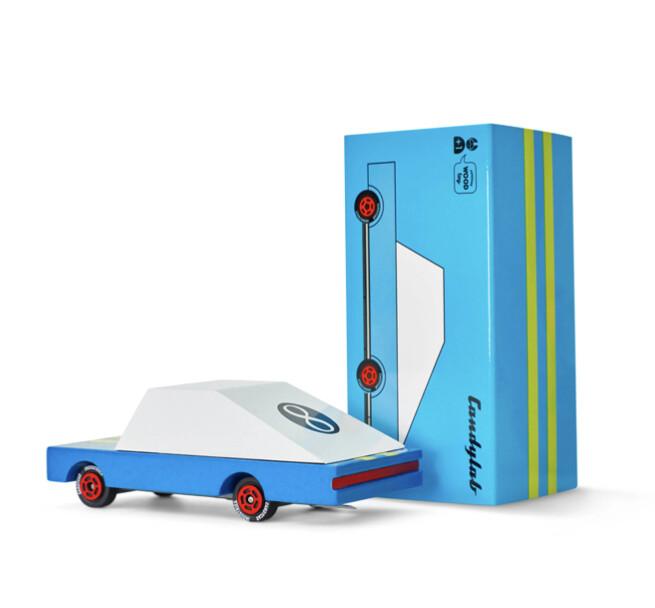 Candycar Blue Racer