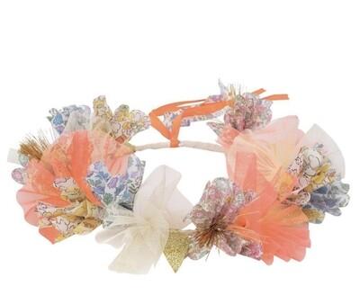 Floral Halo Crown