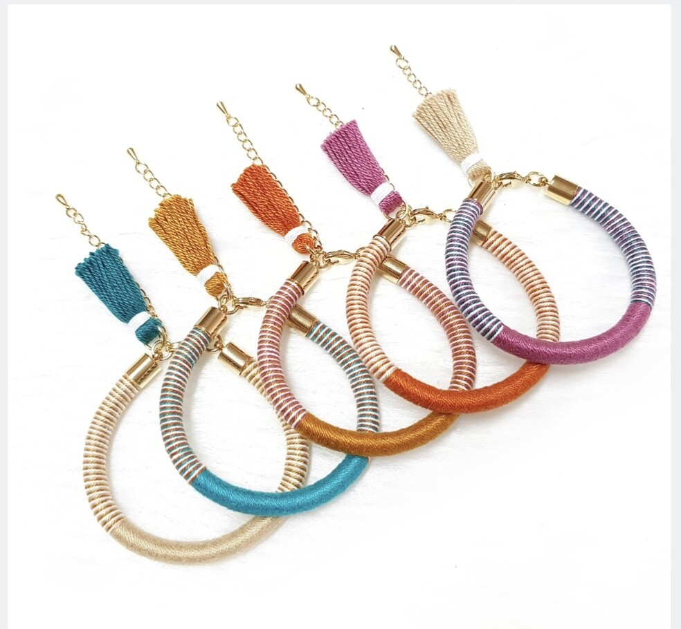 Weave Tassy Co Bracelets