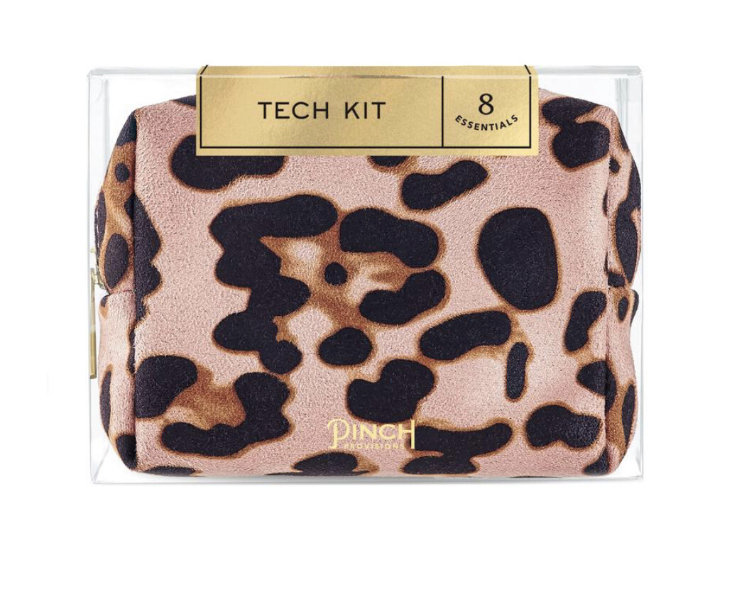 Tech Kit Blush Leopard
