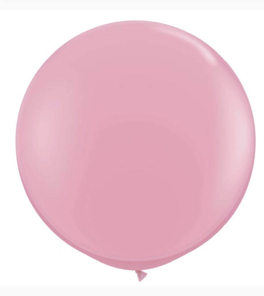3' Pink Showstopper Balloon