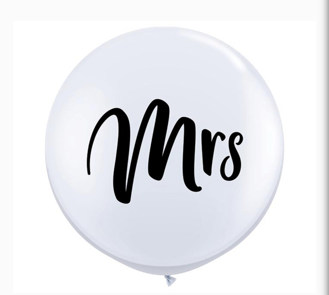 3' Mrs Balloon