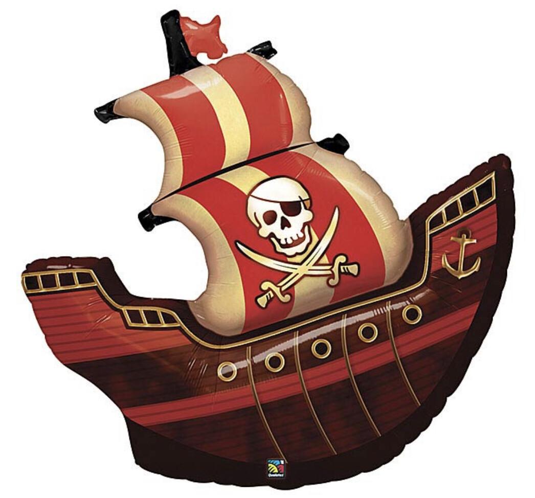 """40"""" Pirate Ship Balloon"""