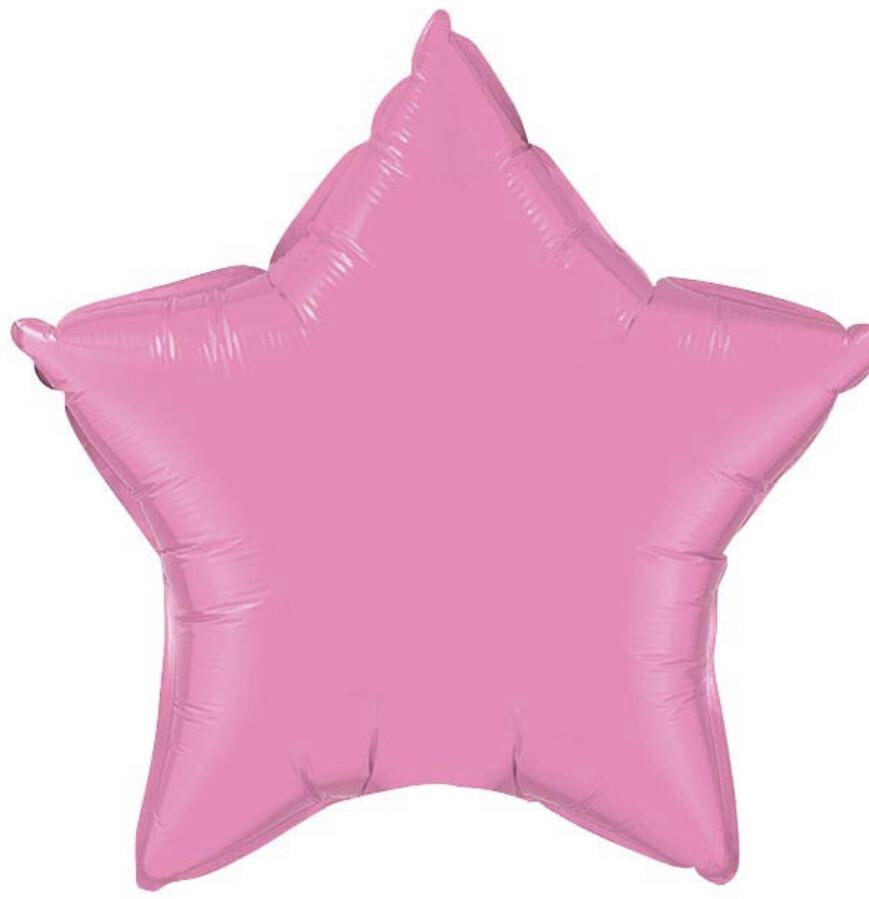 "20"" Hot Pink Star Balloon"