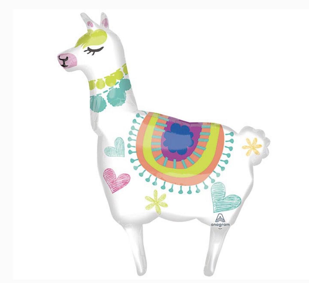 """41"""" Llama Supershape Balloon"""