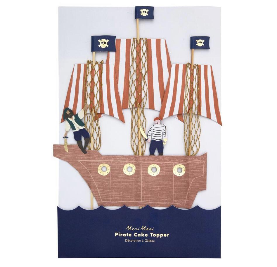 Pirates Bounty Cake Topper