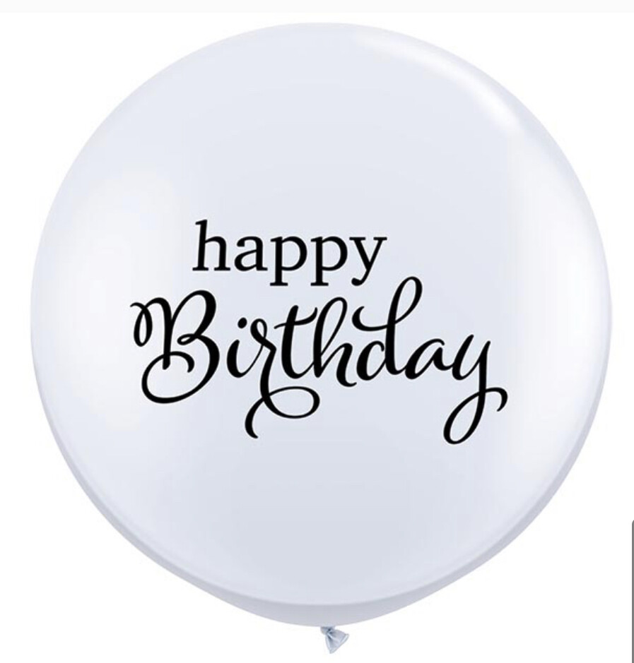 3' Simply Happy Birthday Balloon