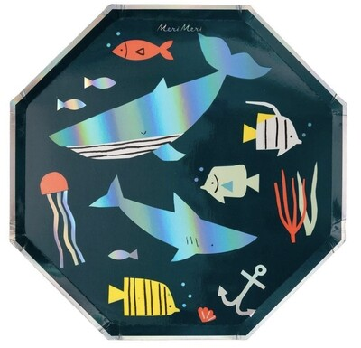 Under The Sea Dinner Plate
