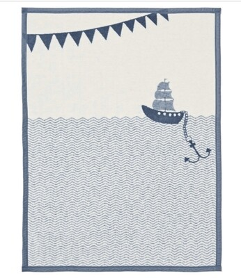 Ahoy Matey Mini Blanket