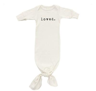 Loved Newborn Gown