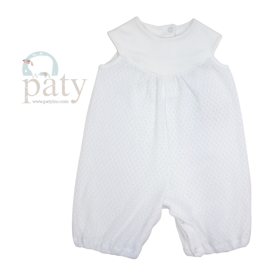 Sleeveless Girls Shortall