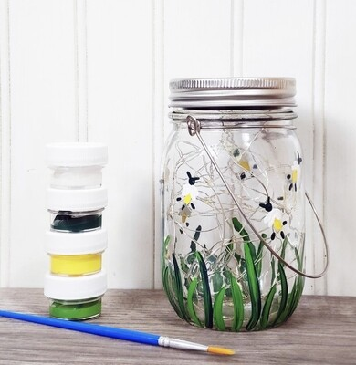 Firefly Lantern DIY