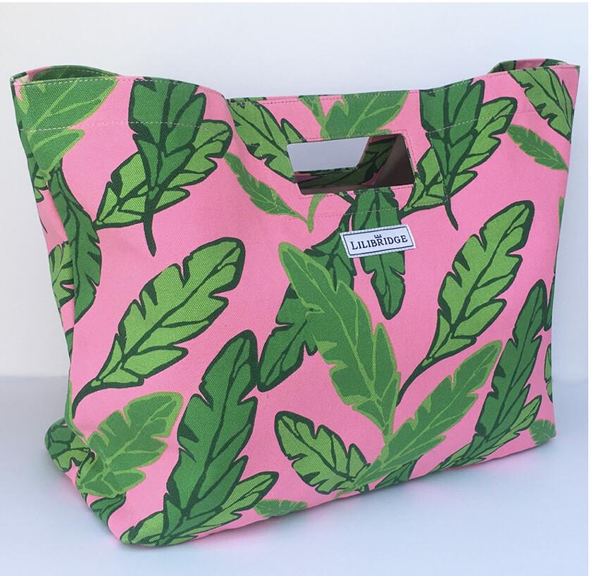 Lilibridge Lotta Leaf Pink Bag
