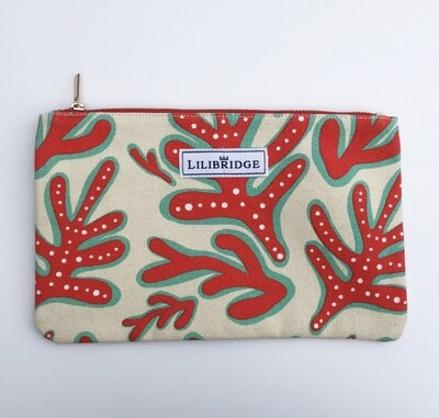 Lilibridge Crazy Coral Clutch