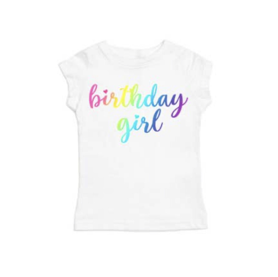 Birthday Girl Short Sleeve Shirt
