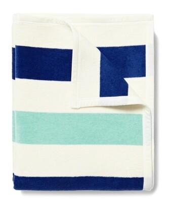 Brant Point Turquoise Blanket