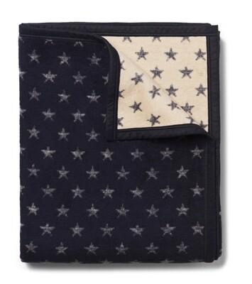 True North Navy Star Blanket