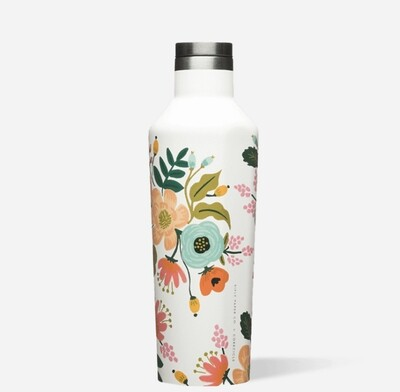 Lively Floral Canteen 16oz