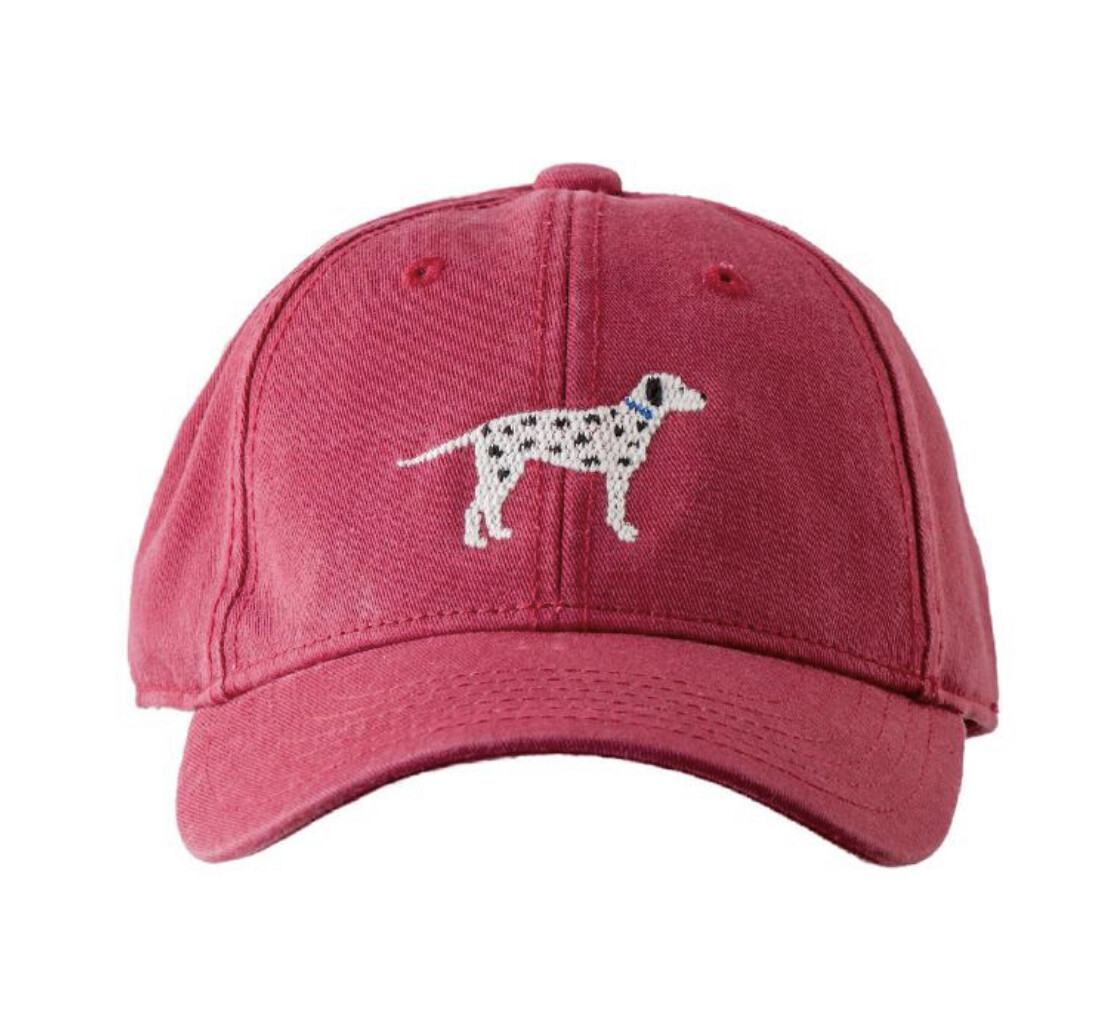 Children's Dalmatian on Red Hat