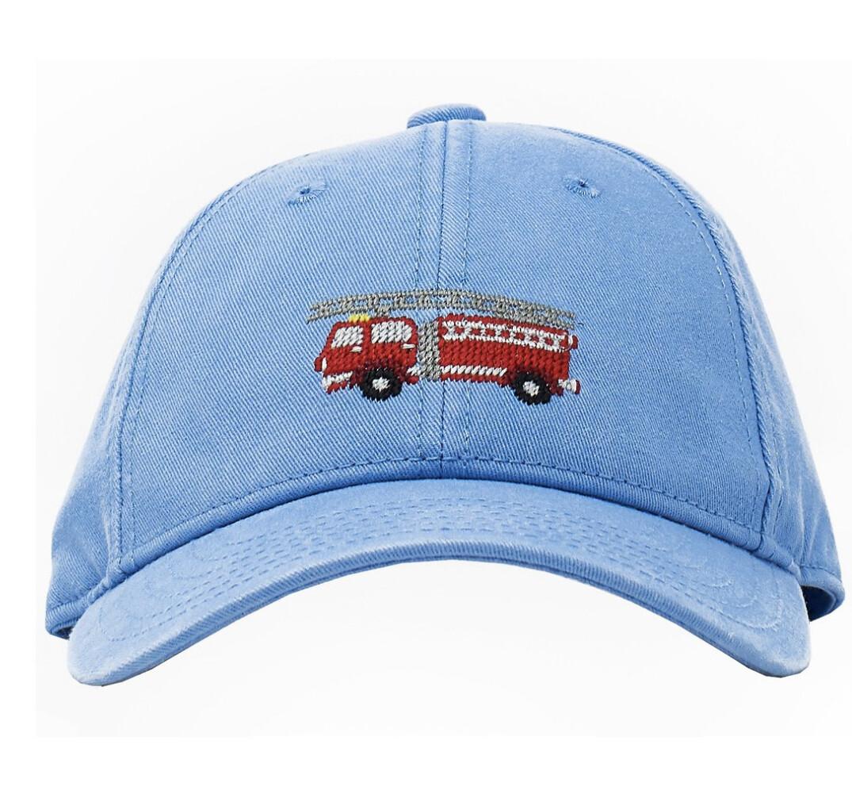 Children's Blue Firetruck Hat