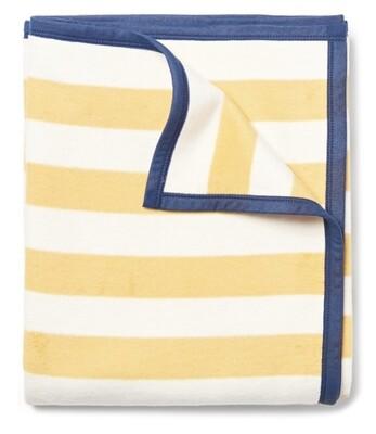 Classic Yellow Stripe Blanket