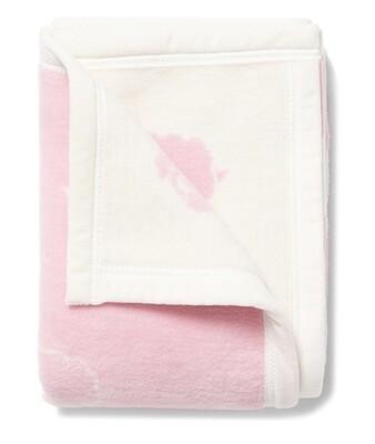 Counting Sheep Pink Mini Blanket