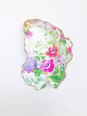 Boston Seaport Spring Flowers Oyster Shell
