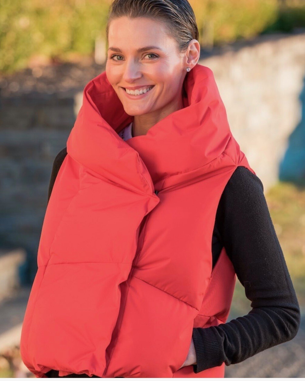 PRG Puffer Vest Red