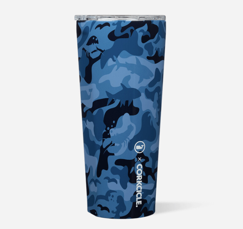 Vineyard Vines Camo Tumbler 24oz