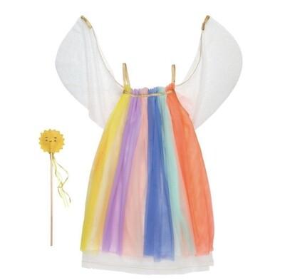 Rainbow Girl Dress