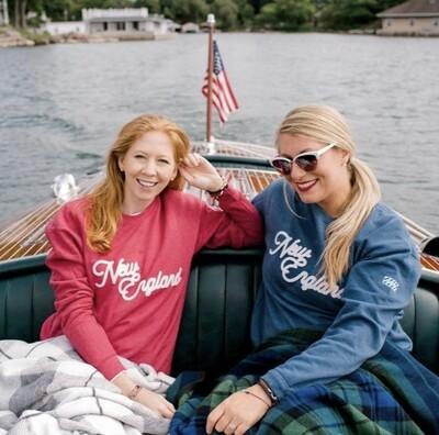 New England Sweatshirt - Navy
