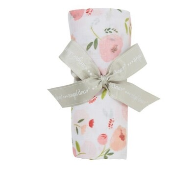 Bamboo Pretty in Pink Swaddle