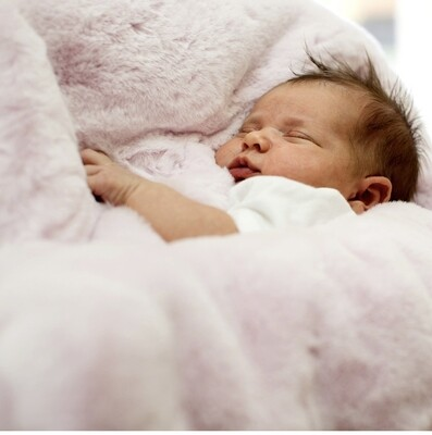 PRG Pink Baby Blanket