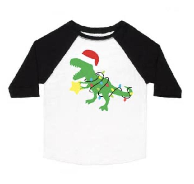 Santasaurus Long Sleeve Shirt
