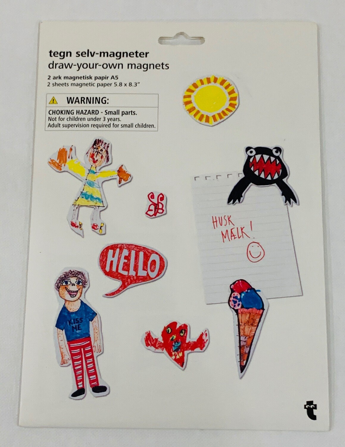 Draw Your Own Magnets