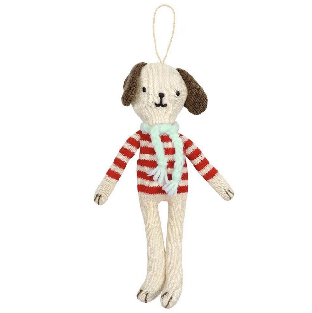 Stripy Dog Ornament