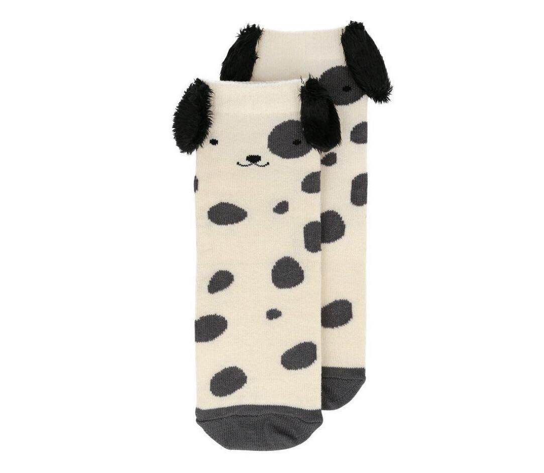 Spotty Dog Socks