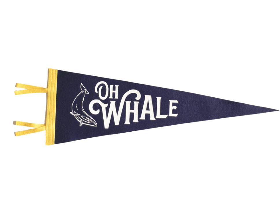Oh Whale Pendant - Oceanic