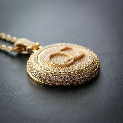 Spinning Diamond QC Custom Necklace