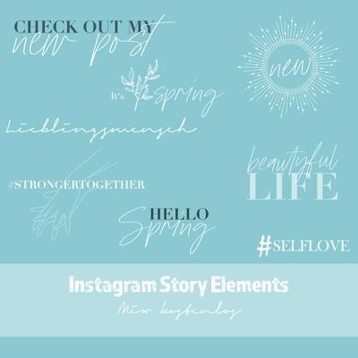Instagram Story Elements - MIX kostenlos