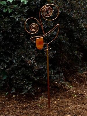 Emoji Garden Stake