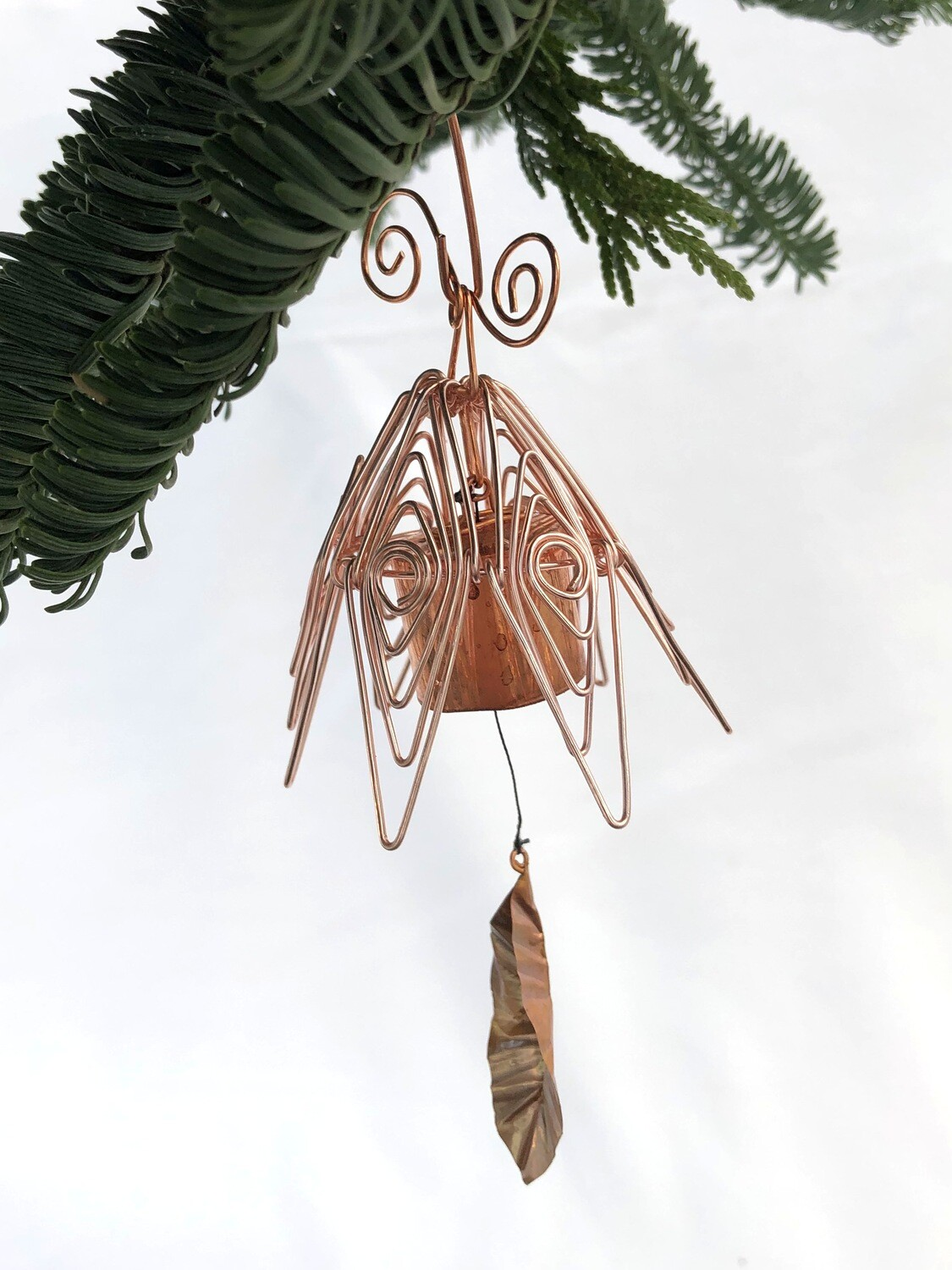 Bellflower Chime Ornament