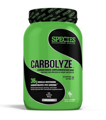 CARBOLYZE: High Molecular Weight Carbohydrates. Made in the USA.