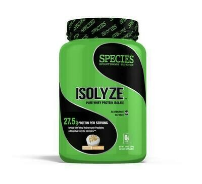ISOLYZE: 100% Pure Whey Protein Isolate: 22 Servings. Made in the USA.