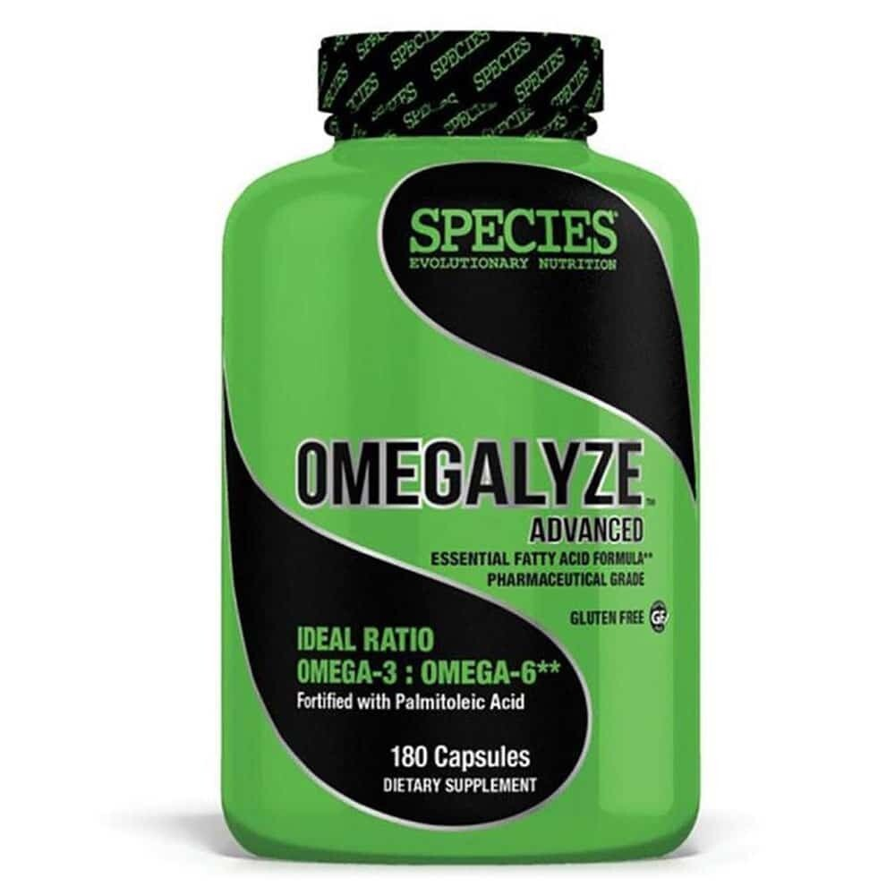 OMEGALYZE ADVANCED: Essential Fatty Acid Formula. Made in the USA.