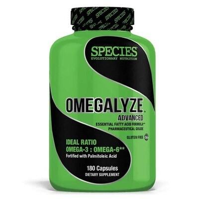 OMEGALYZE ADVANCED: Essential Fatty Acid Formula. Made in the USA.