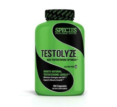 TESTOLYZE: Testosterone Optimizer. Made in the USA.